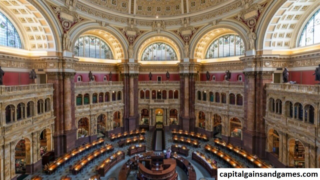 Sejarah  Library of Congress di Washington, DC