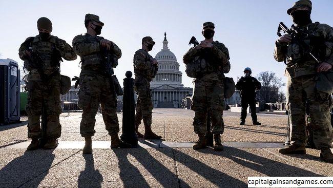 Polisi Chicago didakwa dalam pelanggaran US Capitol