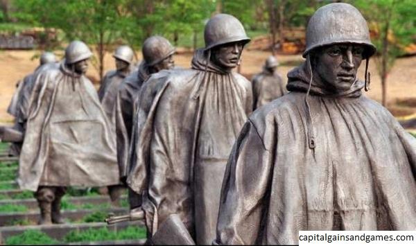 Sejarah Korean War Veterans Memorial di Washington, DC