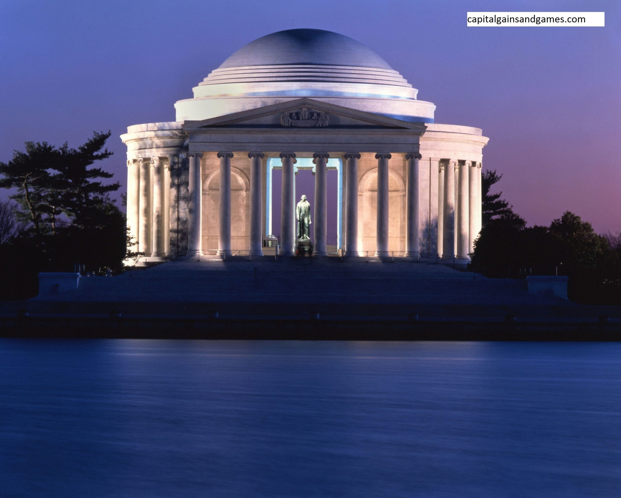 Sejarah Konstruksi dan Tampilan Jefferson Memorial di Washington, DC