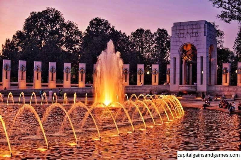 National World War II Memorial yang Berada di Washington, DC