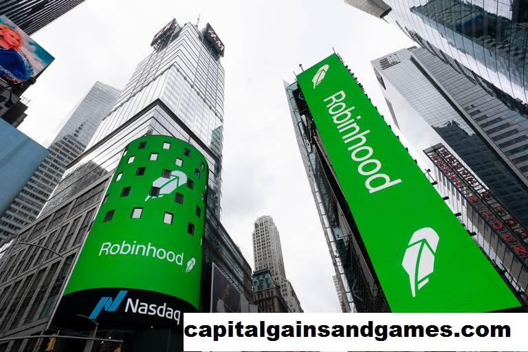 Robinhood tersandung di debut Wall Street